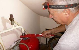 Elektricni kotlovi, ventili, Etazno grejanje