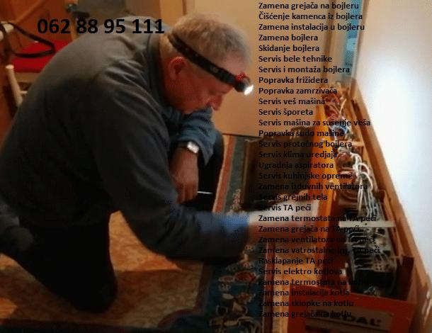 Elektrici kotlovi centralno grejanje cena majstor Zemun