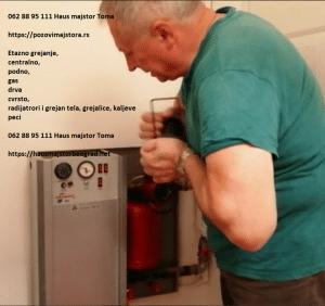 Kaljeve peći ugradnja cene majstor Beograd