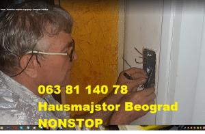 Haus majstor cena usluga Novi Beograd
