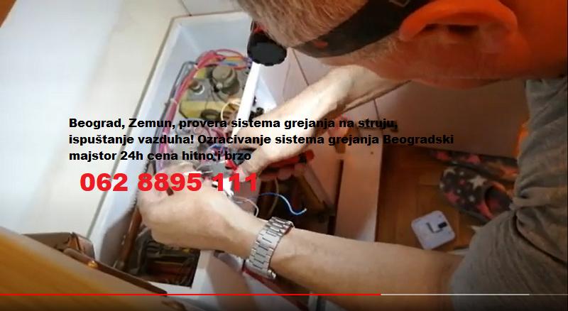 Etažno grejanje Beograd ozračivanje sistema 24h
