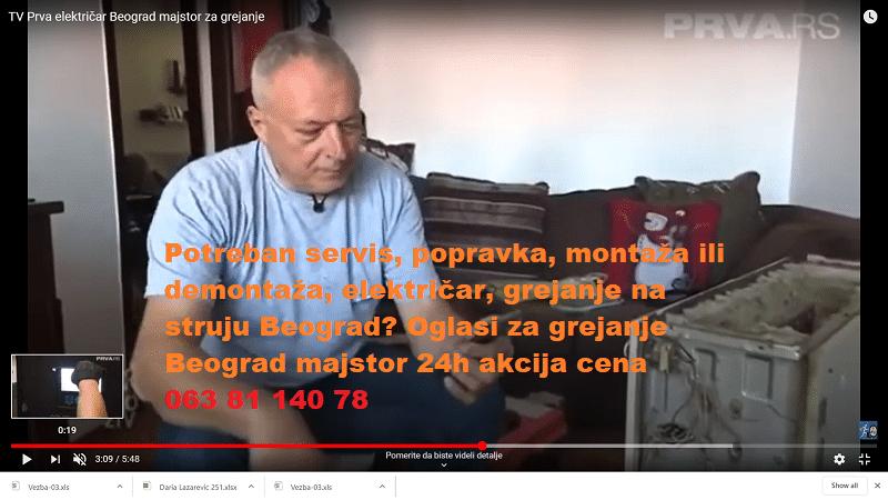 Oglasi električni kotlovi majstor Beograd akcija 24h